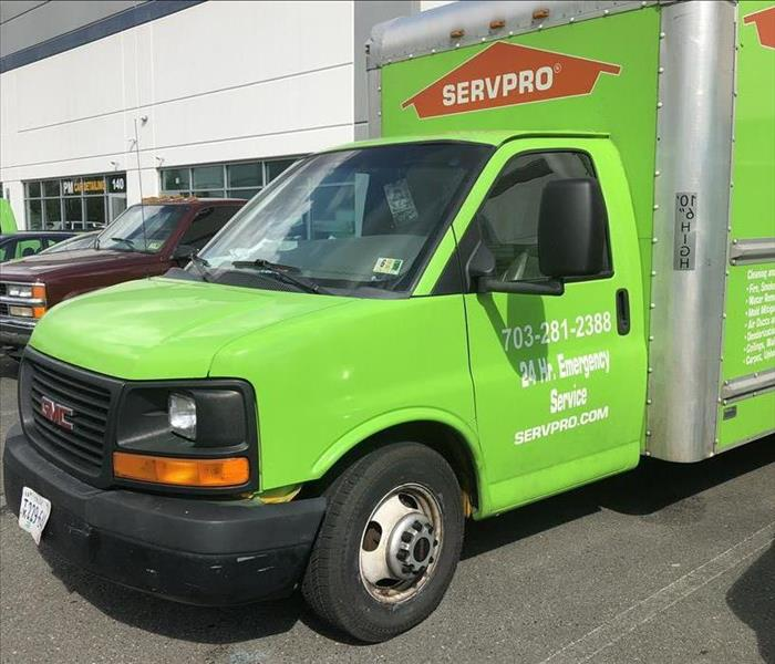 Our Latest SERVPRO Truck!