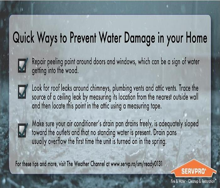 3 Great Water Damage Tips!