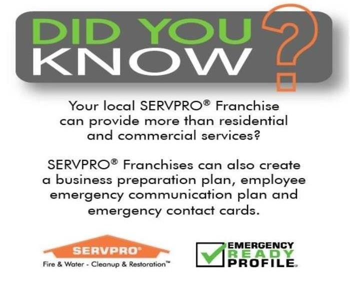 SERVPRO of West Springfield & Newington is Always Ready for your Commercial Emergency